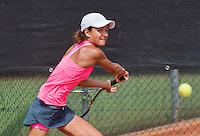 August 6, 2014, Netherlands, Rotterdam, TV Victoria, Tennis, National Junior Championships, NJK,  Merel Hoedt (NED)<br /> Photo: Tennisimages/Henk Koster