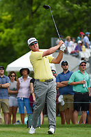 Charley Hoffman (USA) watches his tee shot on 3 during round 4 of the 2019 Charles Schwab Challenge, Colonial Country Club, Ft. Worth, Texas,  USA. 5/26/2019.<br /> Picture: Golffile | Ken Murray<br /> <br /> All photo usage must carry mandatory copyright credit (© Golffile | Ken Murray)
