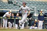Kevin Smith (4)<br /> Maryland v Michigan<br /> Big 10 Baseball Tournament Championship Game<br /> <br /> &copy;2015 Bruce Kluckhohn<br /> #612-929-6010<br /> bruce@brucekphoto.com