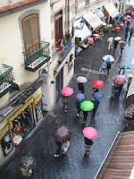Sea of Umbrellas, Amalfi