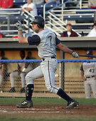 August 24, 2004:  John Jaso of the Hudson Valley Renegades, NY-Penn League (Short Season Single-A) affiliate of the Tampa Bay Devil Rays during a game at Dwyer Stadium in Batavia, NY.  Photo by:  Mike Janes/Four Seam Images