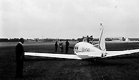 Royal Antwerp Aviation Club.  Juni 1968.  Luchthaven Deurne.
