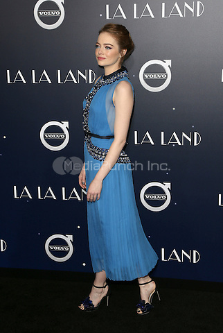 "Westwood, CA - DECEMBER 06:  Emma Stone, At Premiere Of Lionsgate's ""La La Land"" At Mann Village Theatre, California on December 06, 2016. Credit: Faye Sadou/MediaPunch"