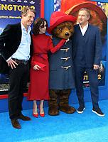 6 January 2018 - Los Angeles, California - Hugh Grant, Sally Hawkins, Paddington and Hugh Bonneville. &ldquo;Paddington 2&rdquo; L.A. Premiere held at the Regency Village Theatre.  <br /> CAP/ADM<br /> &copy;ADM/Capital Pictures