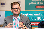 BRUSSELS - BELGIUM - 10 October 2019 -- iEER Final conference as part of European Week of Regions and Cities - The Hacking Growth – boosting entrepreneurial ecosystems in European regions. -- Prof. Dr. Andreas Wilms, President, University of Applied Sciences Brandenburg. -- PHOTO: Juha ROININEN / EUP-IMAGES