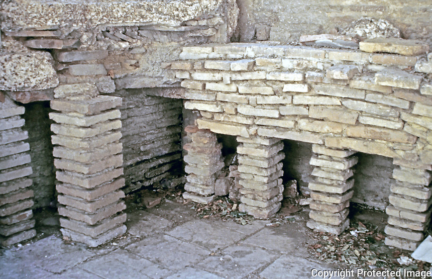 Hypocaust of the Baths of Constantine, Arles France