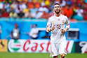 Sergio Ramos (ESP), JUNE 13, 2014 - Football / Soccer : FIFA World Cup Brazil 2014 Group B match between Spain 1-5 Netherlands at Arena Fonte Nova in Salvador, Brazil. (Photo by D.Nakashima/AFLO)