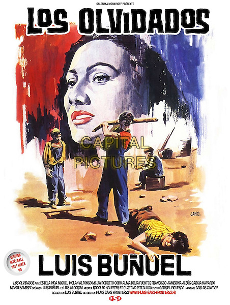 Los Olvidados (1950) <br /> POSTER ART<br /> *Filmstill - Editorial Use Only*<br /> CAP/KFS<br /> Image supplied by Capital Pictures