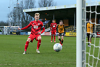 O's Josh Wright  scores 1st half pen during Cambridge United vs Leyton Orient, Sky Bet EFL League 2 Football at Abbey Stadium on 21st December 2019
