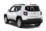 Car pictures of rear three quarter view of a 2015 JEEP Renegade Latitude Door Sport Utility Vehicle Angular Rear