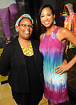 Kenesha Black and Mia Gradney at the MD Anderson Back to School Fashion Show at The Galleria Saturday August 17, 2013.(Dave Rossman photo)