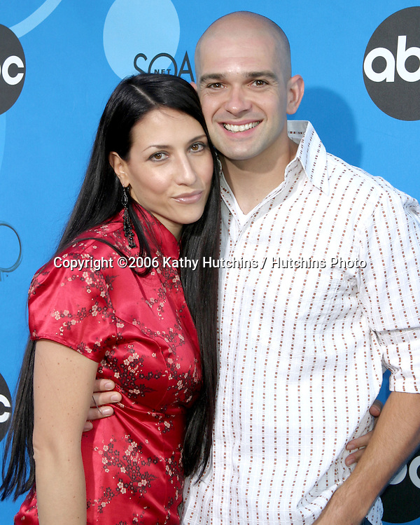 Ed Sanders & wife.ABC Television Group TCA Party.Kids Space Museum.Pasadena, CA.July 19, 2006.©2006 Kathy Hutchins / Hutchins Photo....