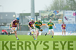 In Action Kerry's Mikey Boyle in the Leinster Senior Hurling Championship Round Robin Group, Round 2,  Kerry V Westmeath    on Saturday at Tralee's Austin Stack Park on Saturday