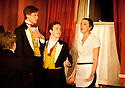 Posh by Laura Wade , directed by Lyndsey Turneron . With Max Bennett as Harry Villiers,  Joshua McGuire as Guy Bellingfield, Jessica Ransom as Rachel . Opens at The Duke of York's Theatre  23/5/12 .CREDIT Geraint Lewis