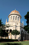 Israel, Mount Carmel.The Bahai Shrine of the Báb in Haifa is the location where the Báb's remains have been laid to rest. The shrine was completed in the 1950s.&#xA;&#xA;<br />