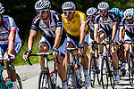 Race leader Marcel KITTEL (GER, GIA)in the bunch, Stage 4 Hotel Verviers - La Gileppe (Jalhay), België, Ster ZLM Toer, Gileppe Belgium, 21th June 2014, Photo by Thomas van Bracht / Peloton Photos