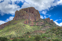 "Standing at 7,325 ft, Casa Grande (Spanish for ""Big House"") is the fourth highest peak in Texas' Chisos Mountains and is found in the heart of Big Bend National Park."