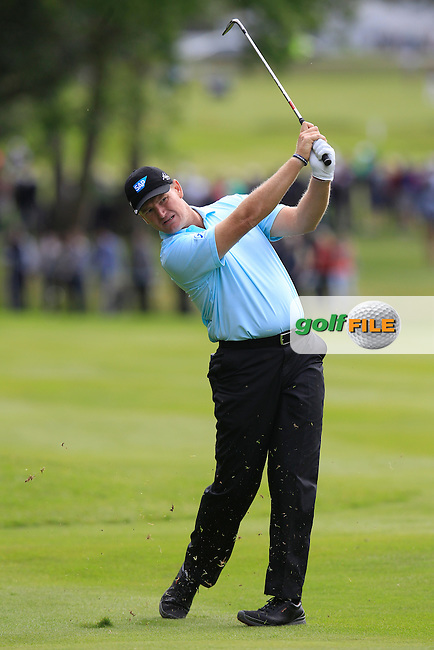 Ernie ELS (RSA) during round 2 of the 2015 BMW PGA Championship over the West Course at Wentworth, Virgina Water, London. 22/05/2015<br /> Picture Fran Caffrey, www.golffile.ie: