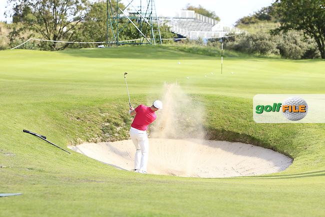 during the Pro-Am of the 2015 KLM Open at the Kennemer Golf &amp; Country Club in The Netherlands on 9/9/15.<br /> Picture: Thos Caffrey | Golffile
