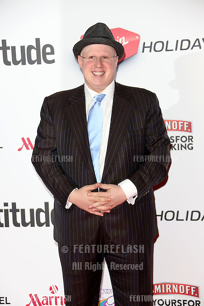 Matt Lucas at the Attitude Magazine Awards 2013 - Arrivals held at the Royal Courts of Justice, London. 15/10/2013 Picture by: Henry Harris / Featureflash