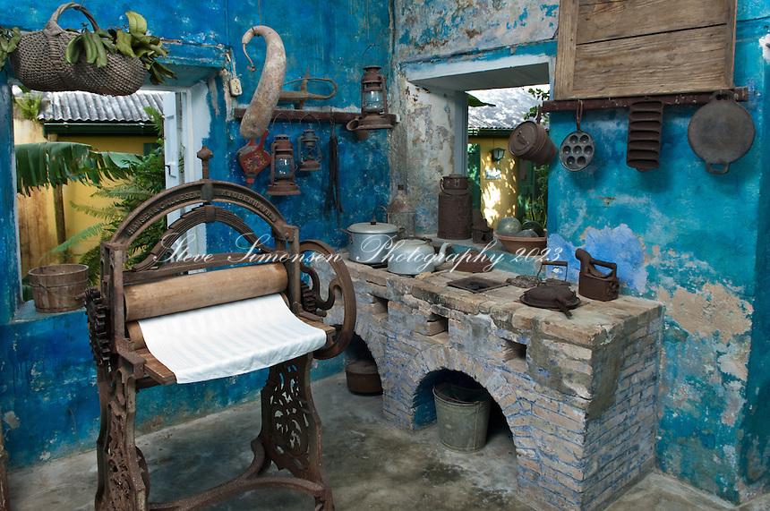 Lawaetz Museum.<br /> St Croix.US Virgin Islands