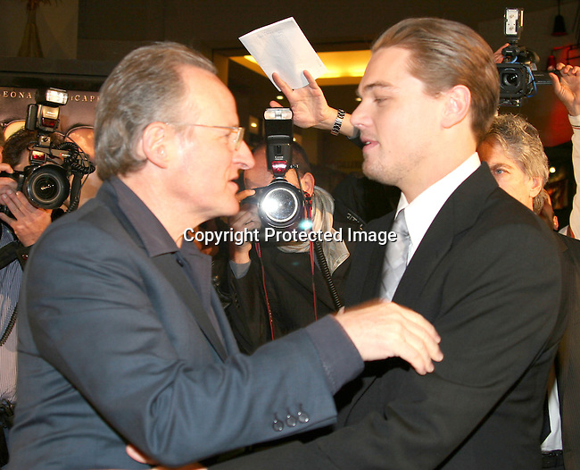 Leonardo DiCaprio &amp; guest<br />
