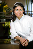 Executive Chef of Aló Restaurant Julia Lopez (cq) in Dallas, Texas, Monday, January 19, 2009. Aló Restaurant, owned by La Duni Company, serves Mexican and Peruvian cuisine...PHOTOS/ MATT NAGER