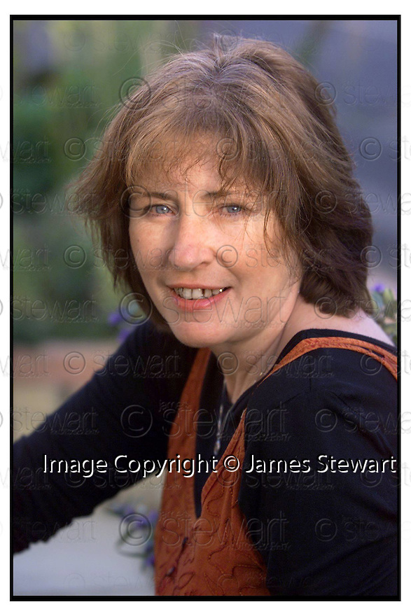 18th  October  2000      Copyright Pic : James Stewart .Ref :                           .File Name : stewart02-janet paisley      .WRITER JANET PAISLEY FROM HALLLGLEN, FALKIRK... .PICS FOR BEING 17 IN THE 60'S CASE STUDY.......Payments to :-.James Stewart Photo Agency, Stewart House, Stewart Road, Falkirk. FK2 7AS      Vat Reg No. 607 6932 25.Office : +44 (0) 1324 630007        Mobile : 07721 416997.Fax     : +44 (0) 1324 630007.E-mail : jim@jspa.co.uk.If you require further information then contact Jim Stewart on any of the numbers above.........