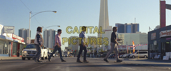 ZACH GALIFIANAKIS, ED HELMS, JUSTIN BARTHA &amp; BRADLEY COOPER <br /> in The Hangover Part III (2013) <br /> 3<br /> *Filmstill - Editorial Use Only*<br /> CAP/FB<br /> Supplied by Capital Pictures