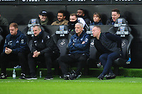 Steve Cooper Head Coach of Swansea City in action during the Sky Bet Championship match between Swansea City and West Bromwich Albion at the Liberty Stadium in Swansea, Wales, UK. Saturday 07 March 2020