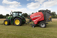 17.7.2020 Contractors baling grass for hay<br />  ©Tim Scrivener Photographer 07850 303986<br />      ....Covering Agriculture In The UK.