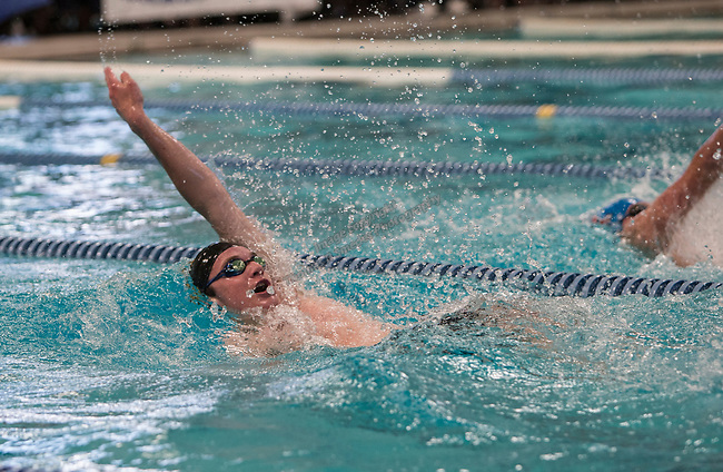 Galena's Seamus Donohue competes in the boys 4A 200 yard IM race during the State Swimming Meet in Carson City on Saturday, May 20, 2017.