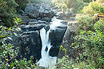 Namorona Falls, Namorona River, with montane rainforest, Ranomafana National Park, Madagascar
