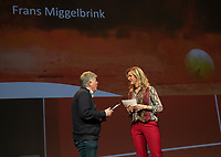 Nieuwegein, Netherlands, November 23,  2019, MBC Congrescentrum, KNLTB Year Congres , Frans Miggelbrink with Kristie Boogert<br /> Photo: Tennisimages/Henk Koster