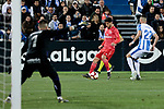CD Leganes's Dimitrios Siovas and Real Madrid's Marco Asensio during La Liga match between CD Leganes and Real Madrid at Butarque Stadium in Leganes, Spain. April 15, 2019. (ALTERPHOTOS/A. Perez Meca)