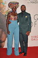 Lupita Nyong'o and David Oyelowo at the &quot;Queen of Katwe&quot; 60th BFI London Film Festival Virgin Atlantic gala screening, Odeon Leicester Square cinema, Leicester Square, London, England, UK, on Sunday 09 October 2016.<br /> CAP/CAN<br /> &copy;CAN/Capital Pictures /MediaPunch ***NORTH AND SOUTH AMERICAS ONLY***