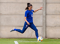 Paris, FRA - June 14, 2019:  The USWNT trains before their second group stage match at the FIFA Women's World Cup.