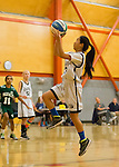 Foothill NJB 7th-8th grade girls at Blach City Gym, January 17, 2016