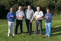Team Jamieson Christie Wealth Management - from left are Mohammed Altaf, Andrew Harvey, Richard Cooper, Dominic O'Brien and Qammar Zamman