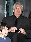 Matthew J. Scjechter & Harvey Fierstein.attending the Actors' Equity Broadway Opening Night Gypsy Robe Ceremony for Aaron J. Albano in.'Newsies - The Musical' at the Nederlander Theatre in NewYork City on 3/29/2012