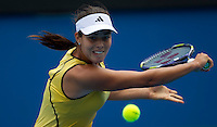 Ana Ivanovic (SRB) (20) against Gisela Dulko (ARG) in the Second Round of the Womens Singles. Dulko beat Ivanovic 6-7 7-5 6-4..International Tennis - Australian Open Tennis - Thur 21 Jan 2010 - Melbourne Park - Melbourne - Australia ..© Frey - AMN Images, 1st Floor, Barry House, 20-22 Worple Road, London, SW19 4DH.Tel - +44 20 8947 0100.mfrey@advantagemedianet.com
