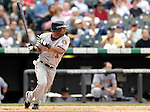 10 September 2006: Henry Mateo, infielder for the Washington Nationals, in action against the Colorado Rockies. The Rockies defeated the Nationals 13-9 at Coors Field in Denver, Colorado...Mandatory Photo Credit: Ed Wolfstein.