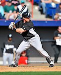 2 March 2011: Florida Marlins catcher Vinny Rottino in action during a Spring Training game against the Washington Nationals at Space Coast Stadium in Viera, Florida. The Nationals defeated the Marlins 8-4 in Grapefruit League action. Mandatory Credit: Ed Wolfstein Photo