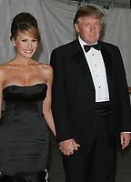 Donald Trump, Melanie Trump, 2005, Photo By John Barrett/PHOTOlink