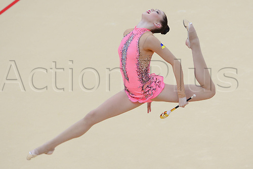 10.08.2012. London, England. Alina  UKR   Rythmic Gymnastcis 2012 London Olympic Games.