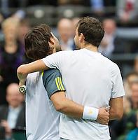 14-02-13, Tennis, Rotterdam, ABNAMROWTT,  Grigor Dimitrov - Marcos Baghdatis
