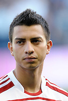 Bryan Leyva FC Dallas midfielder... Sporting KC defeated FC Dallas 2-1 at LIVESTRONG Sporting Park, Kansas City, Kansas.