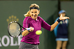 March 8, 2019: Victoria Azarenka (BLR) was defeated by Serena Williams (USA)  7-5, 6-3 at the BNP Paribas Open at the Indian Wells Tennis Garden in Indian Wells, California. ©Mal Taam/TennisClix/CSM