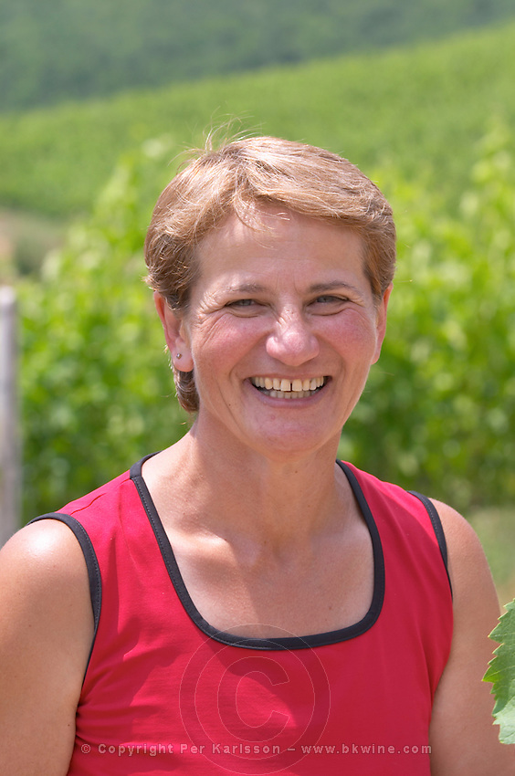 Haroula Spinthiropoulou, agronomist viticulturist. Kir-Yianni Winery, Yianakohori, Naoussa, Macedonia, Greece