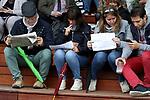 October 07, 2018, Longchamp, FRANCE - Visitors at ParisLongchamp Race Course  [Copyright (c) Sandra Scherning/Eclipse Sportswire)]